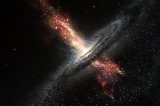 Questo buco nero ha 'partorito': dal suo cuore di tenebra è nata una stella, anzi molte