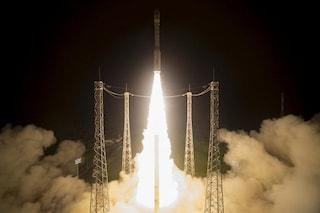 Il razzo 'italiano' Vega lancia Sentinel-2B per monitorare lo stato di salute della Terra