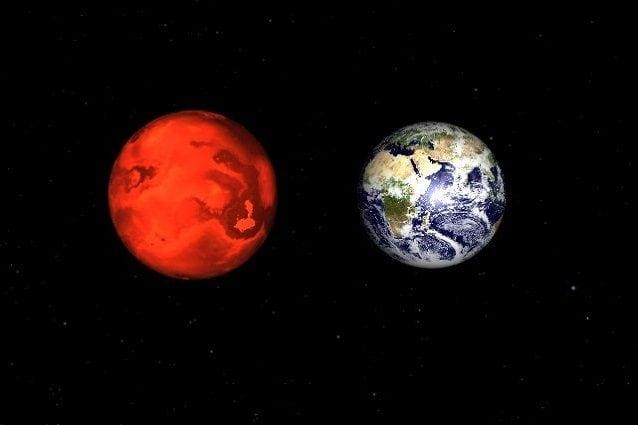 Gj 1132b messo a confronto con la Terra
