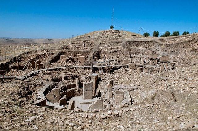 Il sito di Gobekli Tepe: Foto di Teomancimit