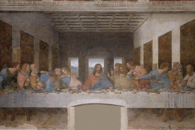 """L'ultima cena"", di Leonardo Da Vinci."