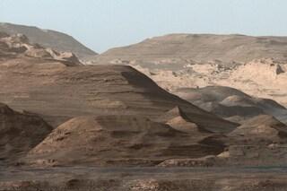 In passato la superficie di Marte è stata modellata da forti acquazzoni