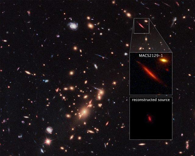 La galassia 'morta' distante ben 10 miliardi di anni luce
