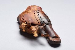 Protesi per il piede dall'Antico Egitto: ha 3 mila anni ed è un'opera d'arte