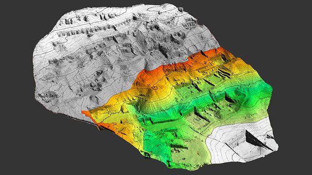 La mappatura di Sheikh Abd el–Qurna: credit: University of Basel, LHTT. Friedli/Gojcic