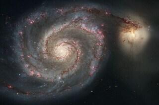 Come 'digerisce' un buco nero: archi immensi di particelle nello spazio interstellare
