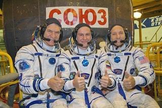 Nespoli è tornato fra le stelle: la Soyuz in volo verso la Stazione Spaziale Internazionale