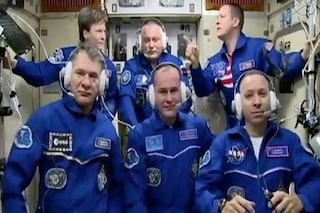 Nespoli, il racconto delle prime ore del suo terzo viaggio nello spazio
