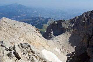 """Siccità, sul Gran Sasso è """"sparito"""" il ghiacciaio del Calderone"""