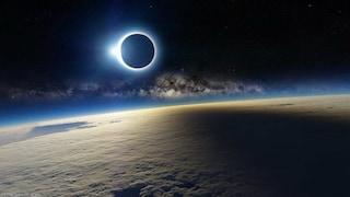 La foto sull'eclissi solare che sta girando in Rete è un falso