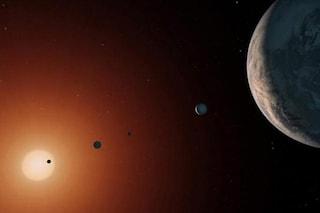 Acqua su Trappist-1: si cerca vita aliena sui pianeti