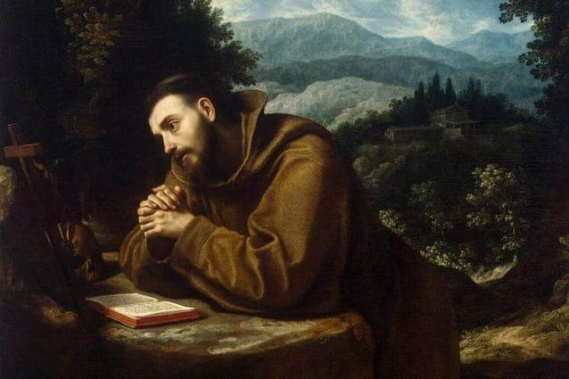 San Francesco, Ludovico Cigoli. credit: Wikipedia