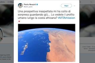 Suggestioni 'spaziali' con Nespoli: dall'Africa all'Italia, la Terra vista dall'astronauta