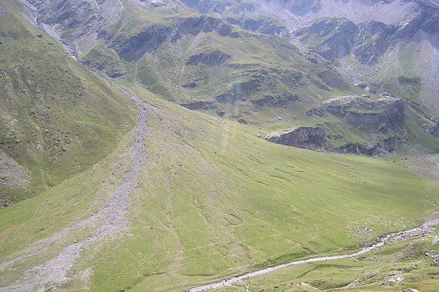 Conoide di deiezione sulla Terra: Credit wikipedia