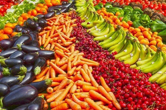 verdure a foglia verde per dimagrire