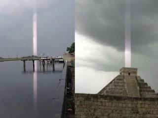 Portali dimensionali squarciano il cielo grazie al complotto dei fulmini
