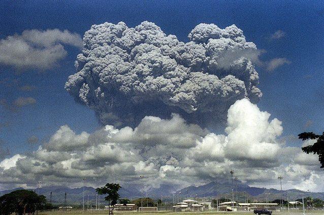 Eruzione Monte Pinatubo, 1991