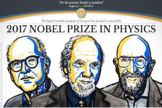 Nobel per la fisica 2017: vincono le onde gravitazionali di Weiss, Barish e Thorne