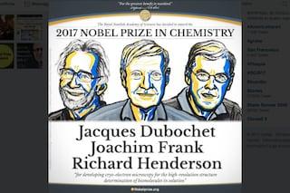 Nobel per la Chimica 2017: vince la crio-microscopia elettronica di Dubochet, Frank e Henderson