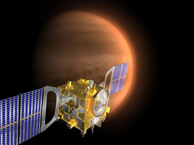 La sonda Venus Express: credit Wikipedia