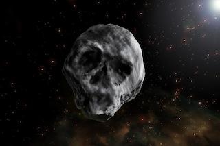 Un 'teschio umano' di 700 metri verso la Terra. L'asteroide di Halloween torna nel 2018