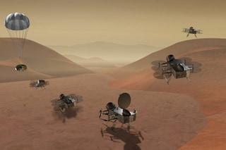 La NASA invierà un super drone volante su Titano, dove forse c'è vita aliena