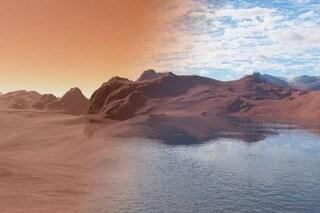 Giganti onde di sabbia si stanno muovendo su Marte