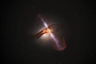 Cos'è il 'doppio rutto' del buco nero supermassiccio che si è abbuffato di stelle