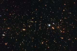 Hubble e il 'grassone' dello spazio: El Gordo ha una massa di 3 milioni di miliardi di soli