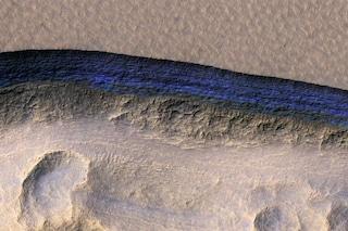 Uomo su Marte sempre più vicino grazie a questi depositi di ghiaccio appena scoperti