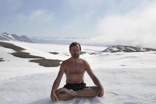 Perché l'olandese Wim Hof non si congela: svelati i segreti della meditazione dell'uomo-ghiaccio