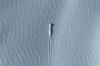 Ufo precipita nella neve. La soluzione del mistero è su Google Earth