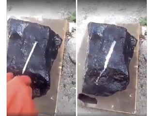La pietra magica che dissolve il ferro, ecco dove sta il trucco