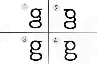 C'è una lettera dell'alfabeto che sappiamo leggere ma non scrivere: così la 'g' ci confonde