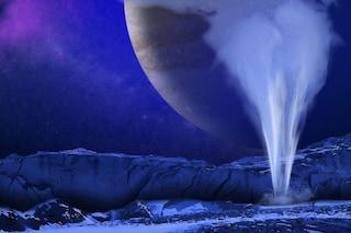 Annuncio NASA: potenti geyser su Europa, la luna di Giove, ci avvicinano agli alieni