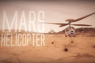 Il mini elicottero della NASA che andrà su Marte è uno spettacolo da vedere