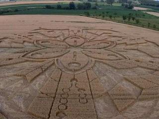 Gli alieni arrivano in Italia e fanno cerchi nel grano: la verità sulle immagini dal Piemonte
