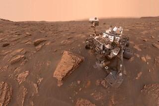 Le rocce di Marte 'pesate' con Curiosity: il nuovo metodo geniale di usare il rover