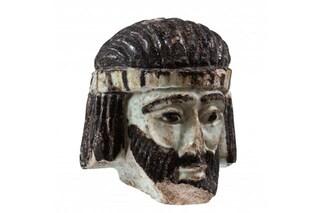 Questa testa di vetro di 3mila anni fa riapre un enigma biblico