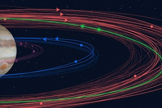 Giove ha 12 nuove lune, ma una è già destinata a schiantarsi: la più strana si chiama Valetudo