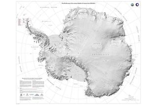 La mappa di Antartide più dettagliata di sempre: immagini spettacolari ci raccontano il 'sud'