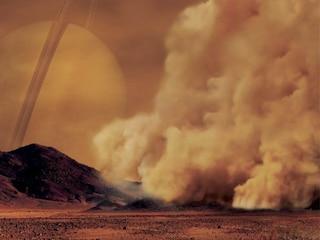 Com'è una tempesta su Titano? Lo spettacolare scatto artistico diventa una fake news