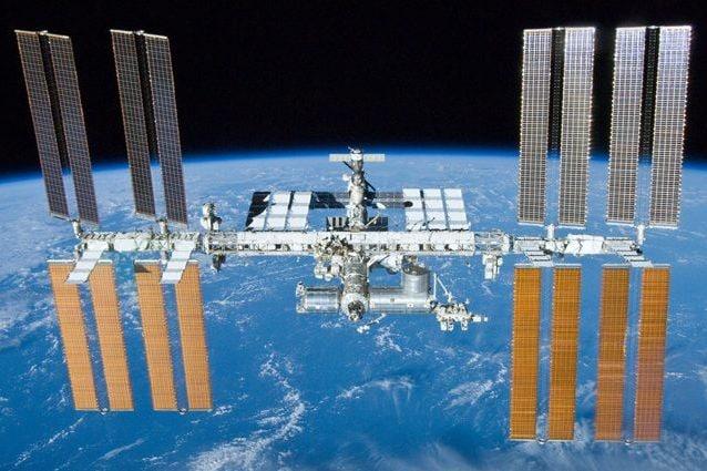 ISS. Credit: NASA