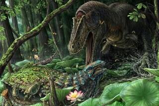"""Dynamoterror dynastes: il terrificante """"cugino"""" del T.rex vissuto 80 milioni di anni fa"""