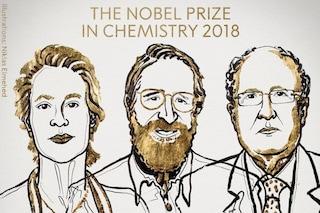 Nobel per la chimica 2018, perché Arnold, Smith e Winter hanno vinto salvando il genere umano
