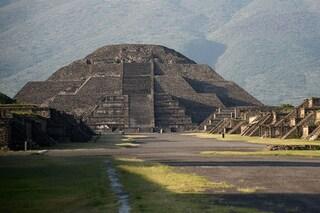 """Sotto la Piramide della Luna ci sono tunnel e una stanza segreti: pronta la caccia ai """"tesori"""""""