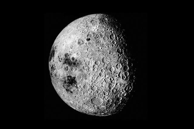 La faccia nascosta della Luna. Credit: NASA/Apollo