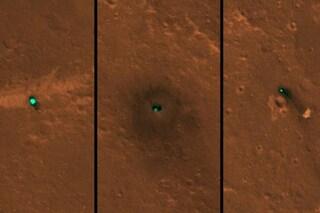 Dove si 'nasconde' InSight? Le foto del lander della NASA sulla pianura di lava marziana