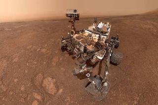 L'ultimo selfie di Curiosity sul crinale Vera Rubin: il rover 'cambia casa' su Marte