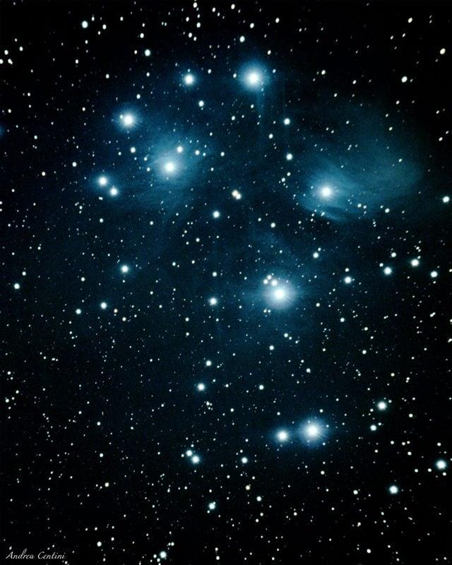 Pleiadi, credit: Andrea Centini